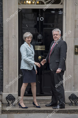 Editorial image of First Minister of Wales Carwyn Jones visit to London, UK - 30 Oct 2017