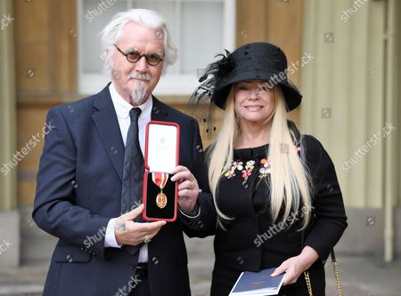 Stock Image of Billy Connolly and Pamela Stephenson