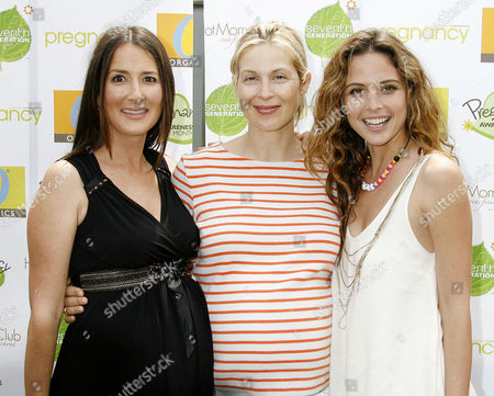 Anna Getty, Kelly Rutherford and Josie Maran