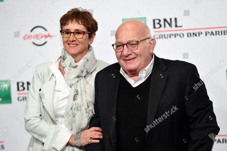 il regista Ben Lewin con la moglie