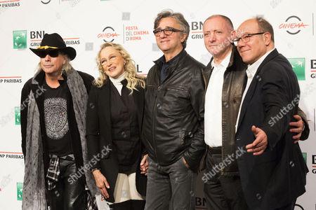 Ricky Portera, Eleonora Giorgi, Gaetano Curreri, Fabio Liberatori and Carlo Verdone