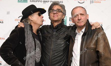 Ricky Portera, Gaetano Curreri and Fabio Liberatori