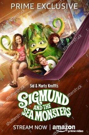 Sigmund and the Sea Monsters (2016) Poster Art. Rebecca Bloom, Solomon Stewart, Kyle Breitkopf