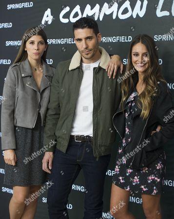 Editorial photo of 'Springfield' photocall, Camera Studio, Madrid, Spain - 31 Oct 2017