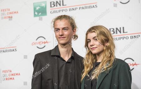 Ludovico Girardello and Galatéa Bellugi