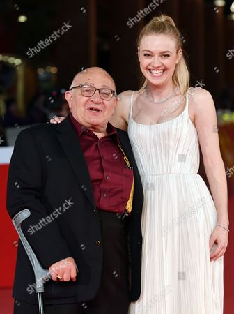 Director Ben Lewin and Dakota Fanning