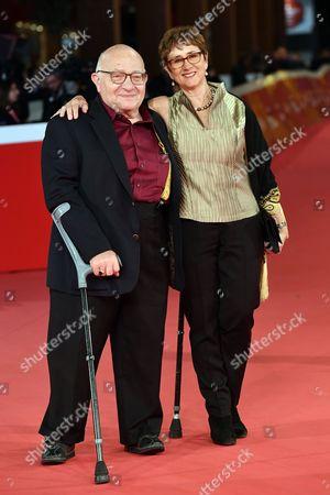 Director Ben Lewin with wife Judi Levine