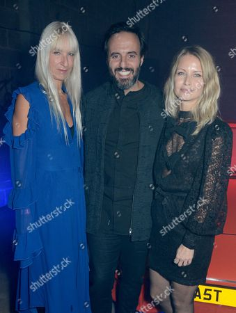 Susanne Tide Frater, Jose Neves and Holli Rogers