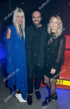 Stock Photo of Susanne Tide Frater, Jose Neves and Holli Rogers