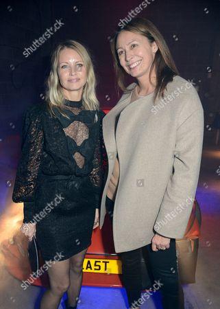 Holli Rogers and Caroline Rush