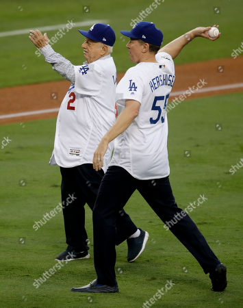 Editorial photo of World Series Astros Dodgers Baseball, Los Angeles, USA - 31 Oct 2017