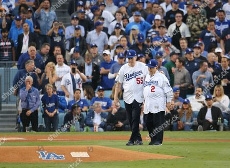 Editorial image of Houston Astros at Los Angeles Dodgers, USA - 31 Oct 2017