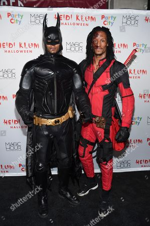 Les Twins attends Heidi Klum's 18th Annual Halloween Party at Moxy Times Square, in New York