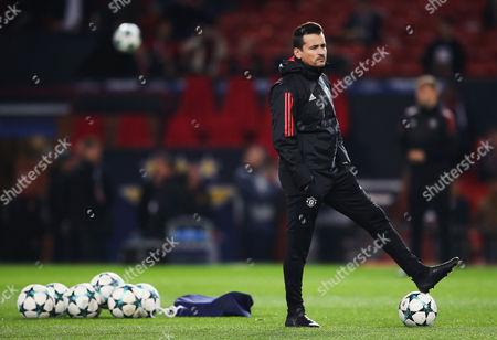 Manchester United coach Rui Faria