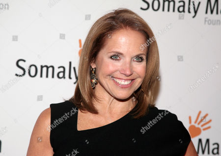 """TV host Katie Couric at the Somaly Mam Foundation Gala in New York. Couric is calling it quits on her weekday talk show as she heads to Yahoo. Couric and Disney-ABC, which produces the syndicated """"Katie"""" show, said it will wrap after this, its second season"""
