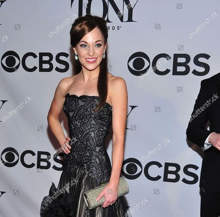 """Laura Osnes arrives on the red carpet at the 67th Annual Tony Awards, in New York. While the provocative musical """"The Threepenny Opera"""" celebrates lowlifes, the upcoming production by the Atlantic Theater Company will star some royalty --Tony Award nominee Osnes, Academy Award winner F. Murray Abraham and Emmy Award winner Michael Park. The Atlantic announced the line-up, which also includes Tony nominee Mary Beth Peil, and Broadway veterans Sally Murphy and Rick Holmes"""