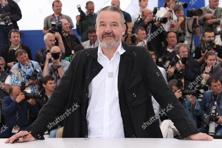 Director Arnaud des Pallieres poses for photographers during a photo call for the film Michael Kohlhaas at the 66th international film festival, in Cannes, southern France