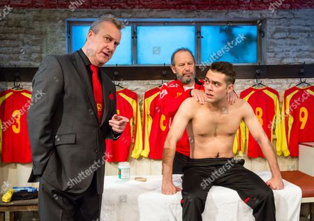 Stephen Tompkinson, Dean Bone and John Bowler