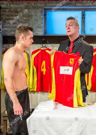 Dean Bone and Stephen Tompkinson