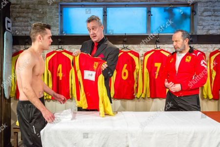 Dean Bone, Stephen Tompkinson and John Bowler