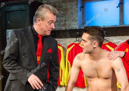 Stephen Tompkinson and Dean Bone