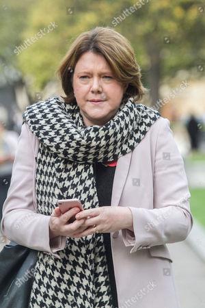 Former Culture Secretary Maria Miller in Westminster