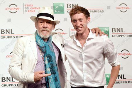 Joe A. Stephenson and Sir Ian McKellen