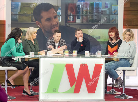 Christine Lampard, Linda Robson, Mike Parr, Anthony Quinlan, Stacey Solomon and Janet Street-Porter