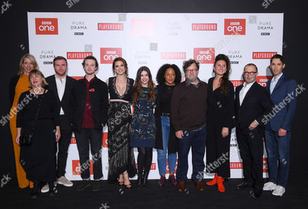 Editorial picture of 'Howards End' TV show screening, Arrivals, London, UK - 01 Nov 2017