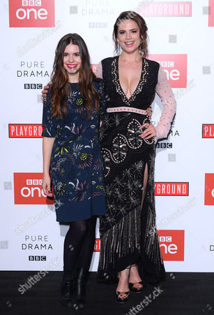 Philippa Coulthard and Hayley Atwell