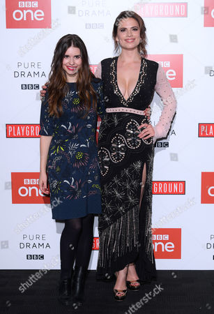 Stock Picture of Philippa Coulthard and Hayley Atwell