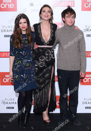 Editorial photo of 'Howards End' TV show screening, Arrivals, London, UK - 01 Nov 2017