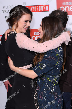 Hayley Atwell and Philippa Coulthard
