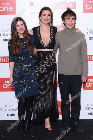 Hayley Atwell, Philippa Coulthard and Alex Lawther