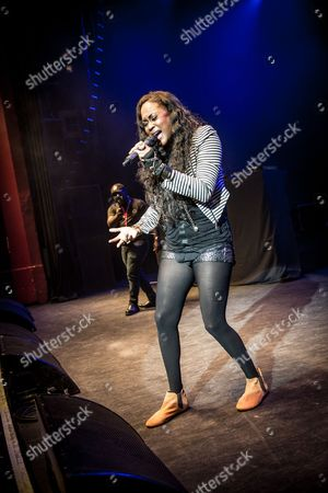 Editorial picture of Shontelle in concert at the O2 Shepherds Bush Empire, London, UK - 31 Oct 2017