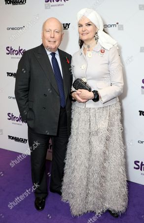 Stock Picture of Lord Robert Fellowes and Lady Jane Fellowes