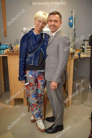 Mimma Viglezio and Shaun Leane