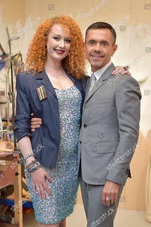 Charlotte Garnett and Shaun Leane