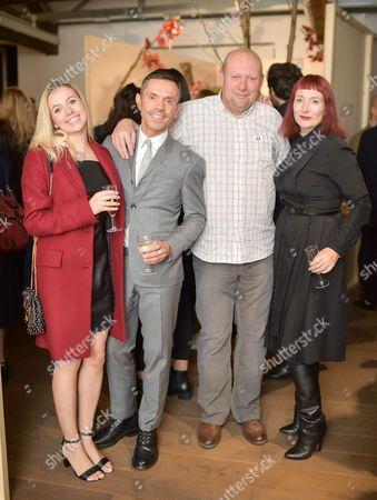 Holly Chapman, Shaun Leane, Eddie Chapman and Trino Verkade