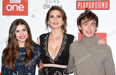 Philippa Coulthard, Hayley Atwell, Alex Lawther