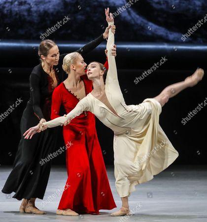 Stock Photo of Ekaterina Shipulina, Yanina Parienko and Olga Smirnova