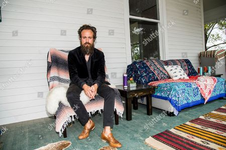 Samuel Beam. Iron & Wine poses during the Pilgrimage Music & Cultural Festival, in Franklin, Tenn