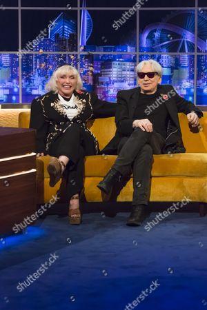 Deborah Harry and Chris Stein