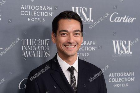 Editorial photo of WSJ. Magazine 2017 Innovator Awards, Arrivals, New York, USA - 01 Nov 2017