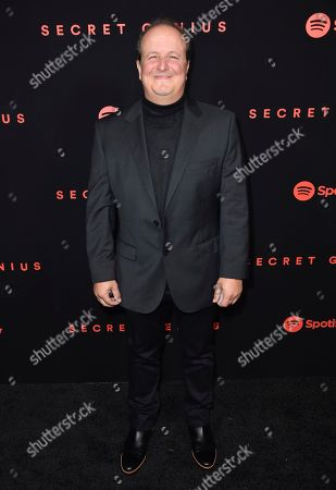 Stock Photo of Julio Reyes Copello arrives at the Secret Genius Awards at Vibiana, in Los Angeles