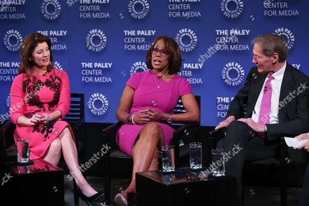 Norah O'Donnell, Gayle King, Charlie Rose