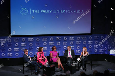 Ryan Kadro, Norah O'Donnell, Gayle King, Charlie Rose, Marisa Guthrie