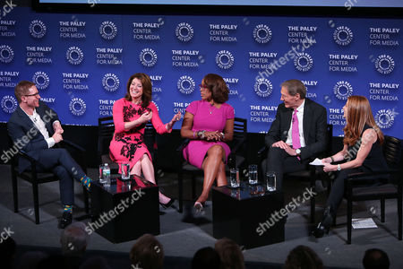 Stock Picture of Ryan Kadro, Norah O'Donnell, Gayle King, Charlie Rose, Marisa Guthrie
