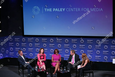 Stock Photo of Ryan Kadro, Norah O'Donnell, Gayle King, Charlie Rose, Marisa Guthrie
