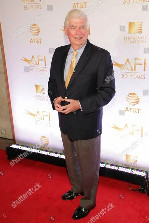 Stock Image of Former Senator Chris Dodd attends AFI's 50th Anniversary Gala at The Library of Congress, in Washington